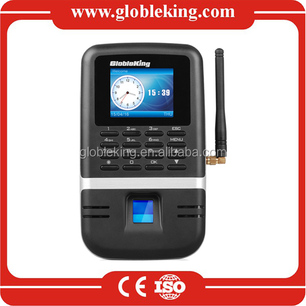 GPRS finger print time and attendance system for school