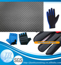 High quality embossed neoprene with fabroc for shockproof gloves