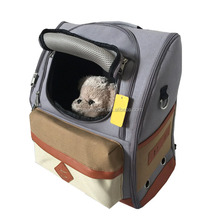 Comfortable Dog Cat Pet Carrier Backpack Travel Carrier Bag Front for Small dogs Carrier Bike Hiking Outdoor