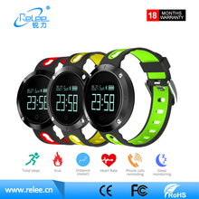 Wholesale heart rate monitor bluetooth smart wristband ce rohs waterproof smart watch for android ios phone