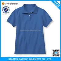 Wholesale Popular Custom Design Dry Fit Polo Shirt With Rib Collar