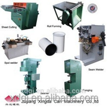 chemical Metal paint tin can making producing line factory machinery