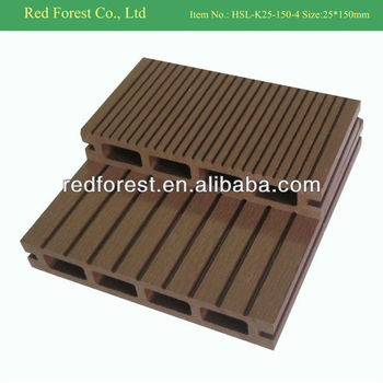 plastic timber decking 25*140