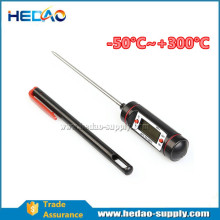 Pen-style, compact structure, portable design food thermometer