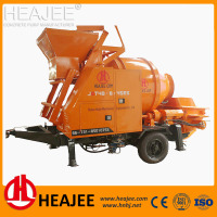 Mini portable hydraulic pump concrete mixer pump price