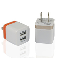 Fast Charging Double Port US Plug Home Wall Charger + Micro USB Charge Cable New