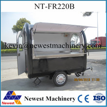 700KG HIgh quality food truck fast food van/mobile food vending cart/ice cream cart for sale