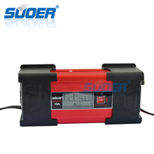 Suoer Fully PWM Digital 10 Amp Fast GEL Charger Intelligent 12 Volt Battery Charger With LCD Display