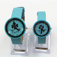 FASHION LEATHER STRAP CHEAP WATCH FOR GIRLS