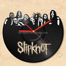 vinyl record art clocks for gift (HD-1526C)