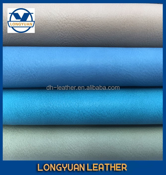 Polyurethane PU Synthetic Leather Material for High Heel Shoes