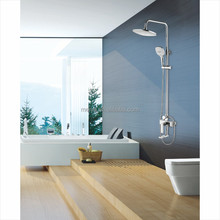 brass new square bath shower set shower faucet with hand shower head