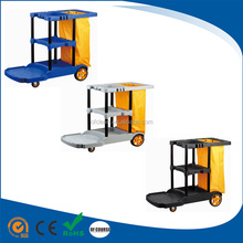 multifunction plastic cleaning trolley hospital Cleaning Cart