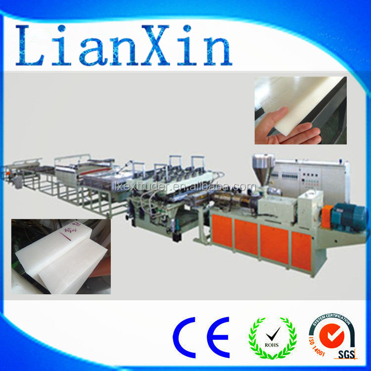 LXSJ-90 plastic plate extrusion making machine