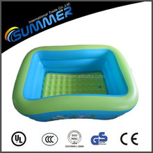 High quality inflatable cartoon square swim pool