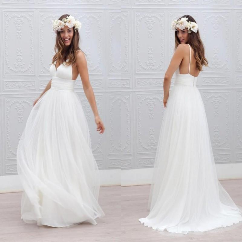 Wholesale bohemian wedding dresses cheap - Online Buy Best bohemian ...