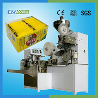 Top quality KENO-TB700 Automatic high speed inner and outer tea bag packing machine