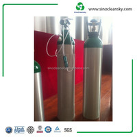 47.5l Aluminum O2, N2, Ar, Co2, N2o Cylinder with Good Quality for Selling