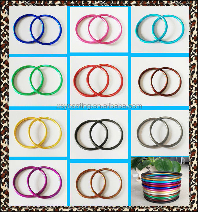 export 10 years XSY quality colored baby sling ring