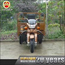 Chongqing wholesale heavy cargo carry 3-wheel indian adult tricycle with cabin