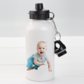Factory Wholesale Sublimation Blank Aluminum Sports Water Bottle with Pop-top Cap