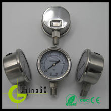 miniature 316 All stainless steel dry pressure gage