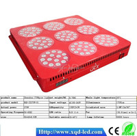 hydroponic induction 3w chips high power led grow lights 405w for commercial crop grow light led grow lighting