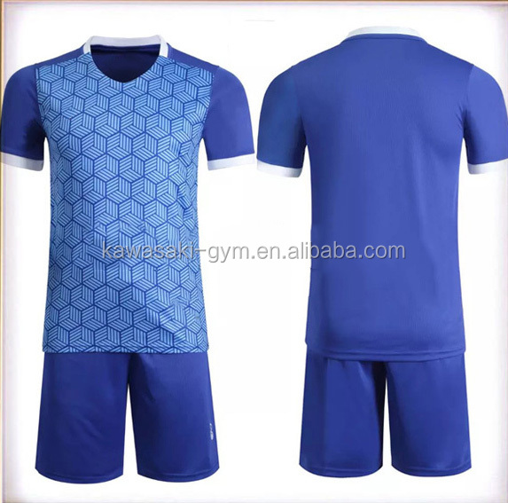 Customized optional colors wholesale football Wear, Sublimation soccer jersey for training
