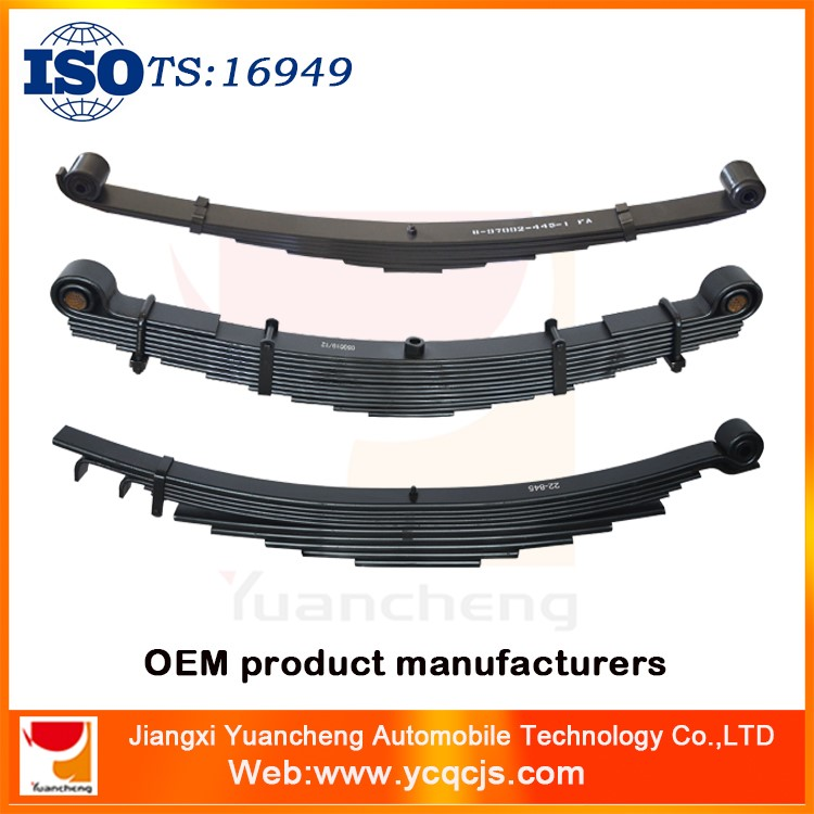 Custom Leaf Springs Actros Leaf Spring