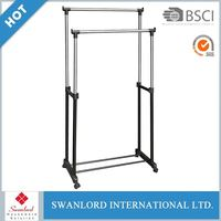 Fashion Foldable Standing Double Bar Indoor