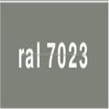 Epoxy/Polyester type RAL7023 Concrete grey Powder Coating