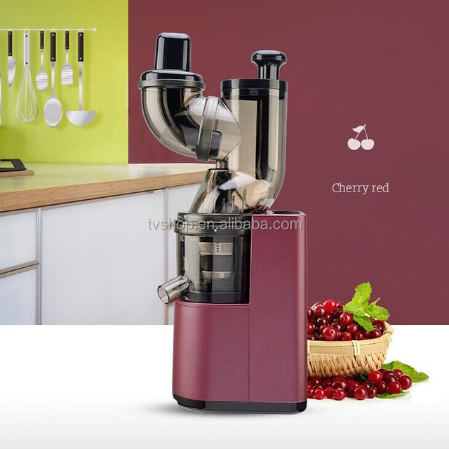 new AC motor 80mm big whole mouth high quality Korea slow juicer cold press juicer for kitchen appliances