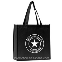 80 GSM Polypropylene Green bag Morgen Polytex Grocery Non Woven Tote Bag university bag