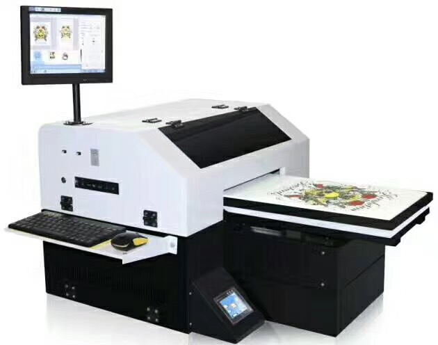 Multicolor Color&Page and Semi-Automatic Automatic Grade t shirt anajet <strong>printer</strong>