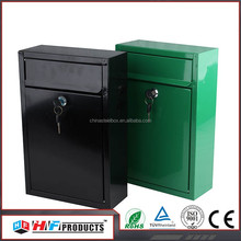 Chinese suppliers high quality wall mounted curve mailboxes