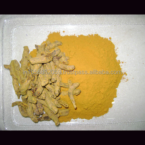 Natural turmeric root from india