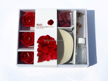 Fashion rose candle romantic candle set cute gifts candle made in China