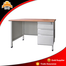 metal and MDF panel cheap hardware executive modern office desk with drawer filing cabinet