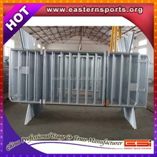 Factory Supply portable temporary concert folding crowd control barrier/fence crowd for public events safety