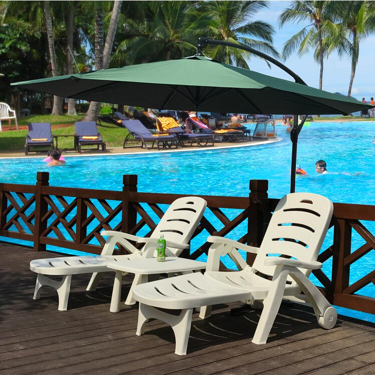 Swimming Pool Patio Indoor Furniture plastic lounge chair