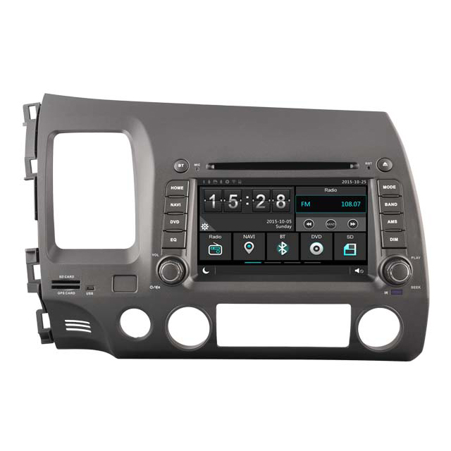 WITSON WINDOWS TOUCH SCREEN CAR DVD FOR <strong>HONDA</strong> <strong>CIVIC</strong> 2006 2011