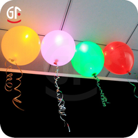 2016 Hot New Products For 2015 Led Flashing Cheap Heart Shape Balloon