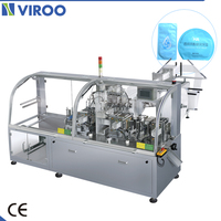Factory Sale Automatic Single Pack 4 Side Seal Wet Wipes Wrapping Machine