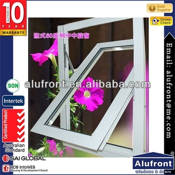 Thermal Break System Aluminum Middle Hung Window