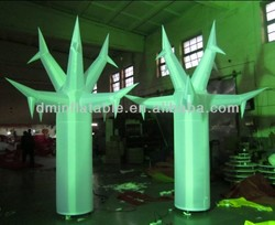 2014 new creative parade RGB led lighting inflatable hydra tree
