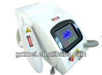 Q Switch spa salon nd yag laser wart tattoo removal machines