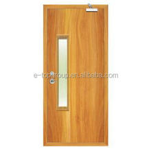 BS certificate woood fire rated stable door with vision glass insert
