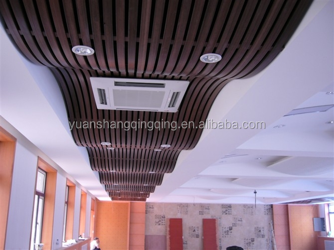 linyi PVC WPC Ceiling design- lots of different designs/Termite resistance