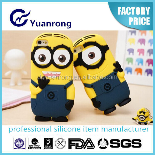 Hot Cute Silicone Phone Cover