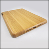 Good quality two-part Carbonized Bamboo wooden case for ipad5, Custom design wood back case pure blank wood cover for ipad5